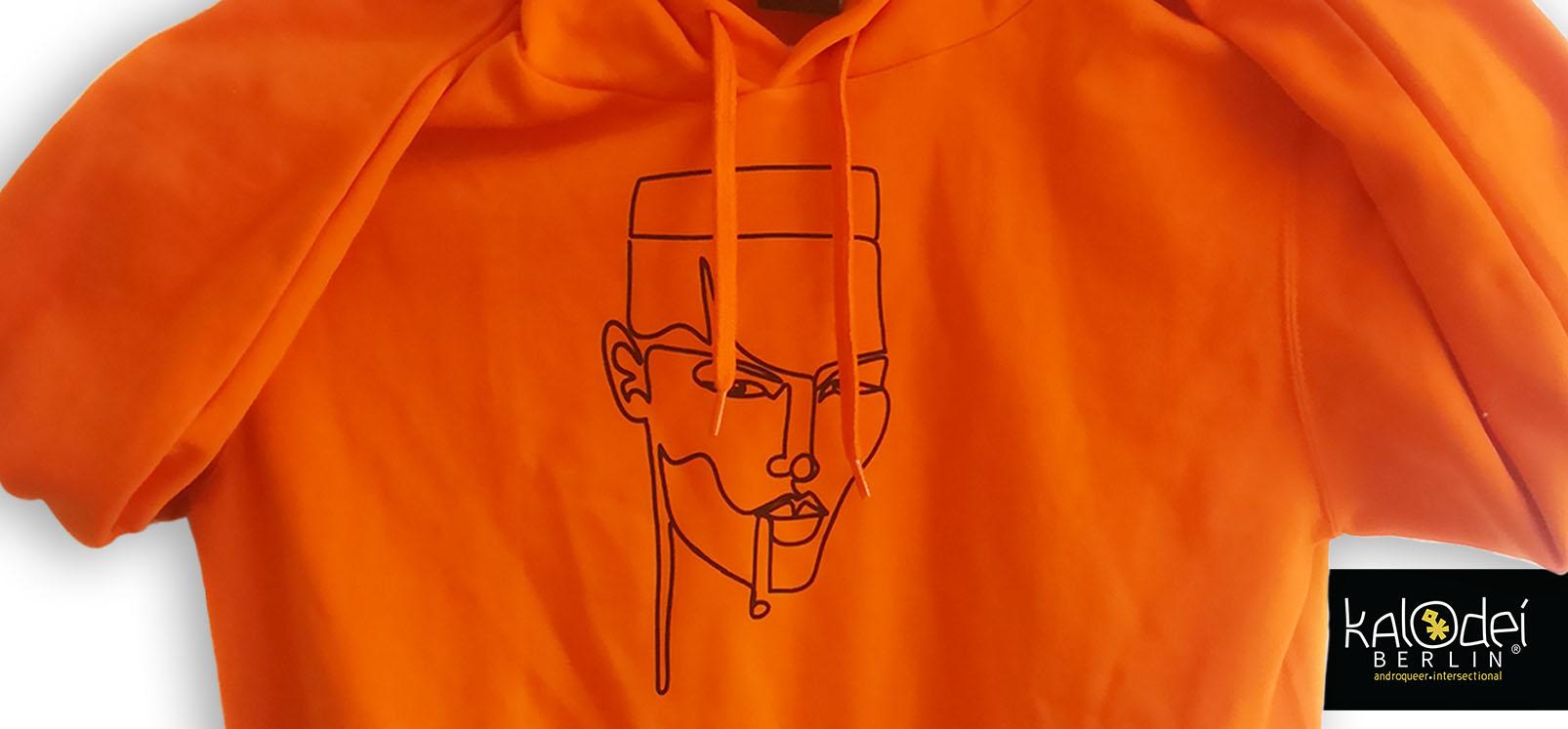 KalodeiBerlin_Hoodie_IslandGirl_Orange_detail