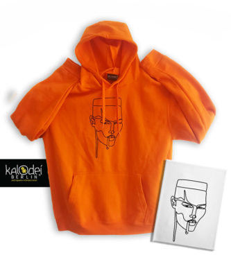 KalodeiBerlin_Hoodie_My Jamaican Girl_Orange_withart_Main