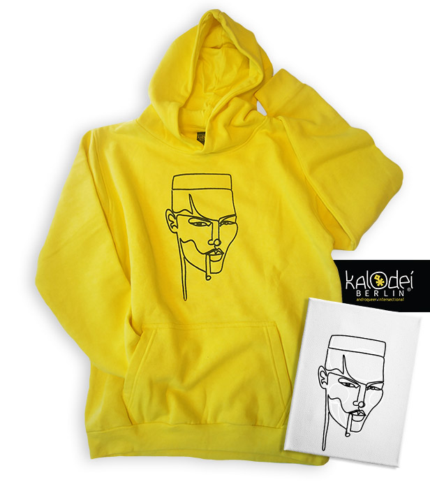 KalodeiBerlin_Hoodie_My Jamaican Girl_Yellow_WithArt